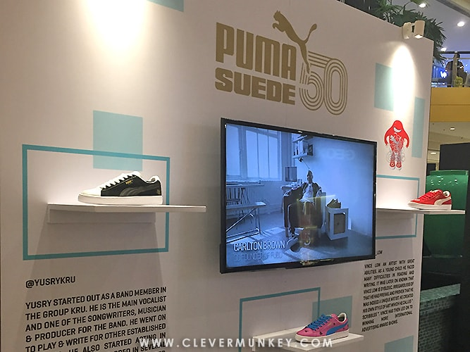 d3caa2d22 PUMA Malaysia Celebrates 50th Anniversary of PUMA Suede with 'House of  Legends'