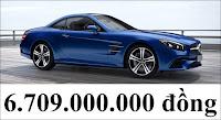Giá xe Mercedes SL 400 2018