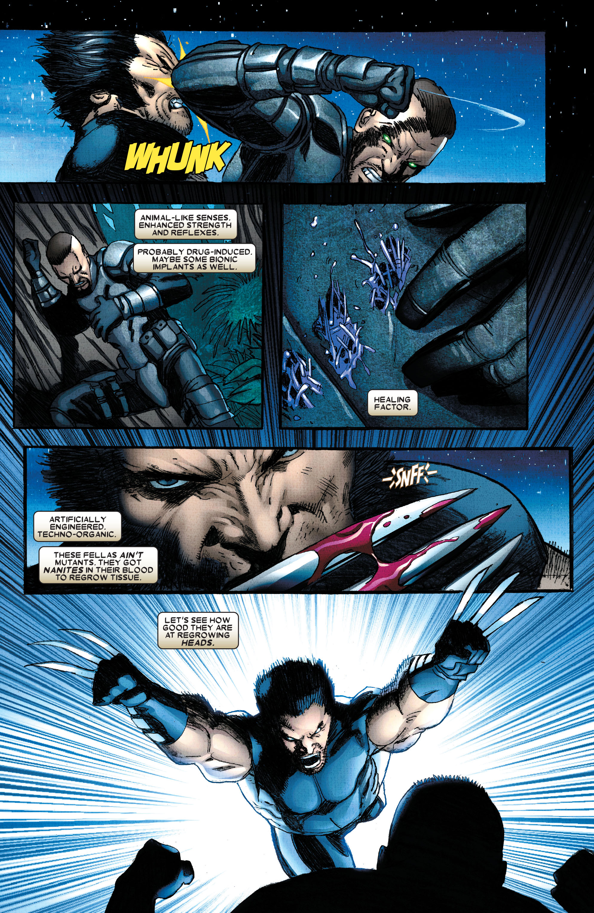 Read online Wolverine: Weapon X comic -  Issue #2 - 14