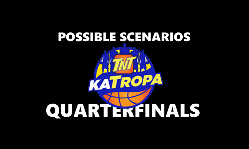 List of Quarterfinal Scenarios for TNT Katropa 2017 PBA Commissioner's Cup