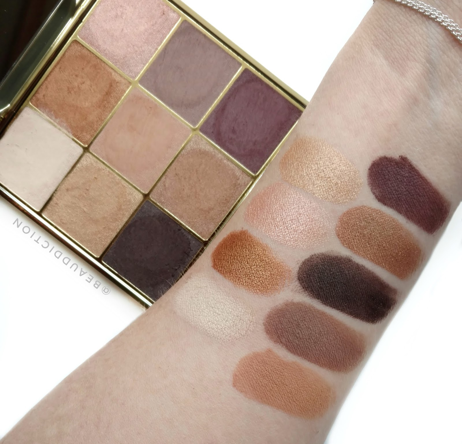 tarte make magic happen palette swatches