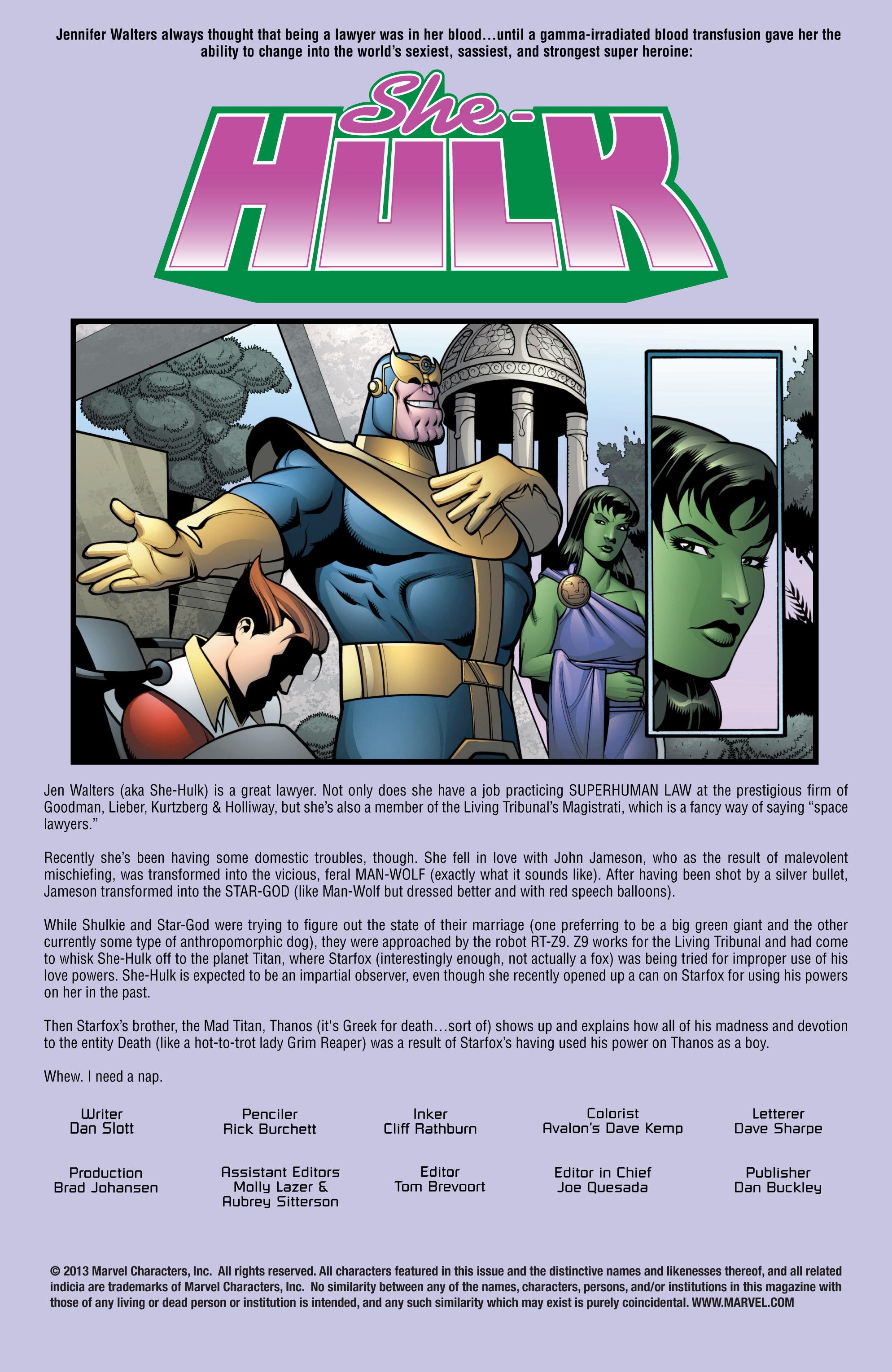 Read online She-Hulk (2005) comic -  Issue #13 - 2