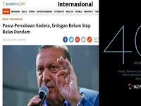 Reaksi Keras Umat Islam, KOMPAS Akhirnya Hapus Berita Sinis tentang Erdogan