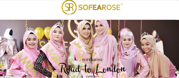 SofeaRose Road To London Berkonsepkan MODEST Fesyen