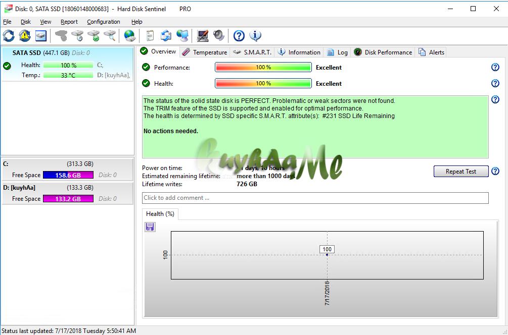 Hard Disk Sentinel Pro 5.40 Build 10482 Final