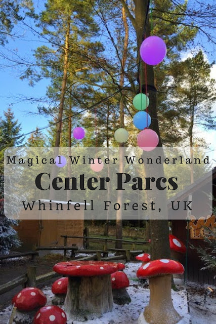 A Magical Winter Wonderland at Whinfell Forest, Center Parcs UK