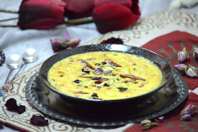 Sheer Khurma | Vermicelli and Milk Dessert