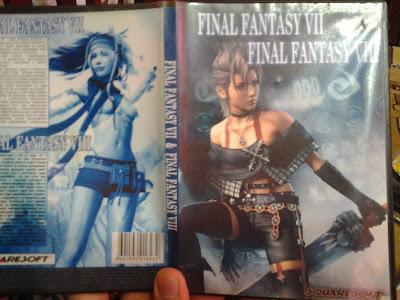 Final Fantasy пиратский диск