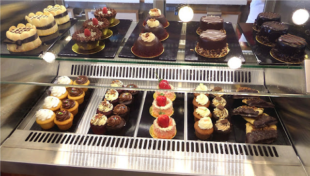 Doces da confeitaria Carlo's Bakery no Florida Mall