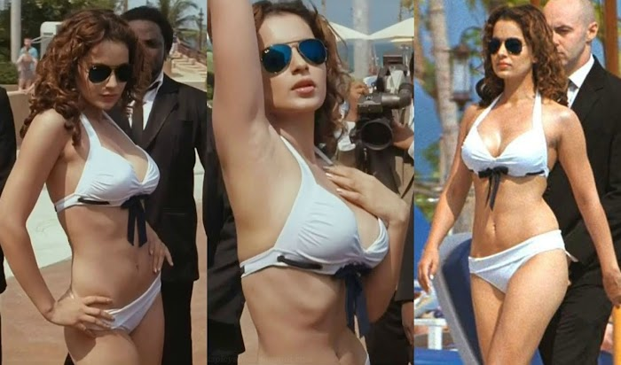 Top 10 Sexiest Bikini Images Of Kangana Ranaut-Bollywood Queen Tempting Pictures will blow your mind