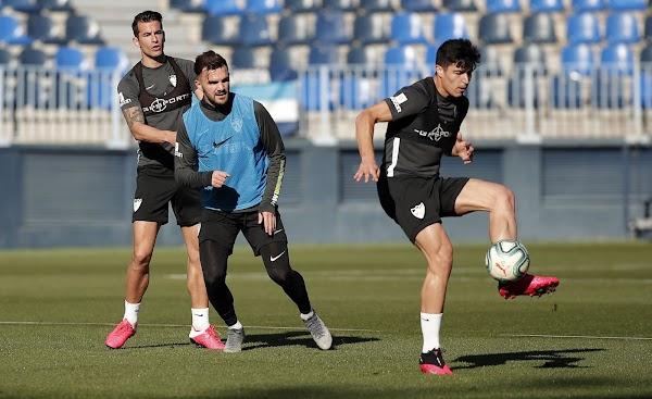 Málaga, segundo entrenamiento de la semana