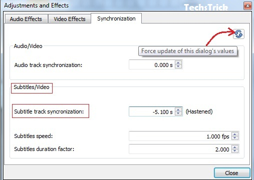 TechsTrick: Fix: Audio and Subtitle Out-of-Sync in VLC Media