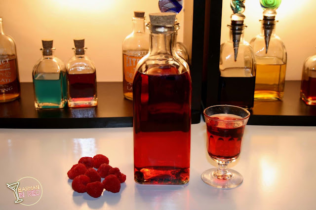 licor de frambuesas