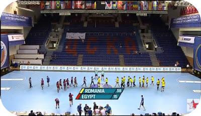 Romania 38 - Egipt 15