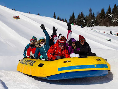Winter Sports in  Quebec