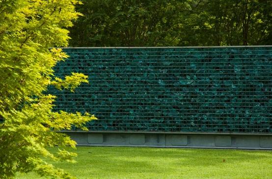 design gard lux proiect arhitectura gard si poarta modern minimalist metal si sticla gabioane plasa sudata gabion cu sticla idei