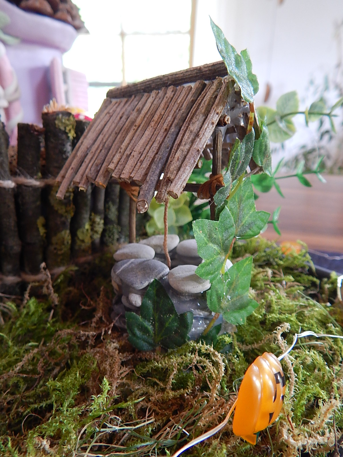 diy indoor fairy garden feen garten. Black Bedroom Furniture Sets. Home Design Ideas