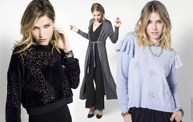 Moda otoño invierno 2018: Sweaters, buzos, capas, sacos tejidos otoño invierno 2018.