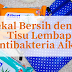 Kekal Bersih dengan Tisu Lembap Antibakteria Aiken