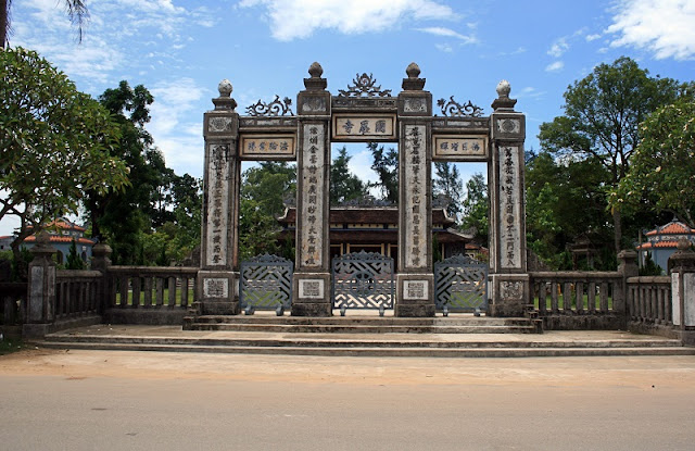 The Sacred Pagodas in Hue 7