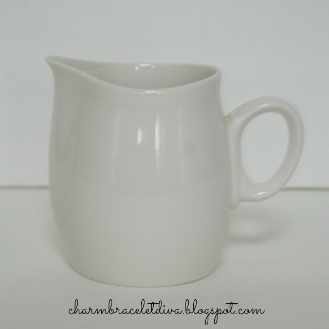 vintage Cloud Nine Franciscan Whitestone Ware creamer