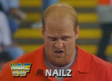WWF / WWE - Summerslam 1992: Nailz - Handsome bastard