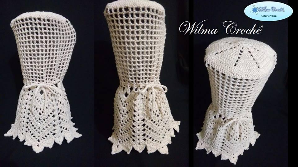 Wilma Crochê: Capa de Liquidificador em Crochê