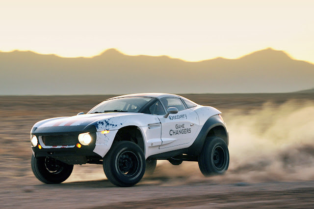 The War on 3D Printing Begins local motors rally fighter