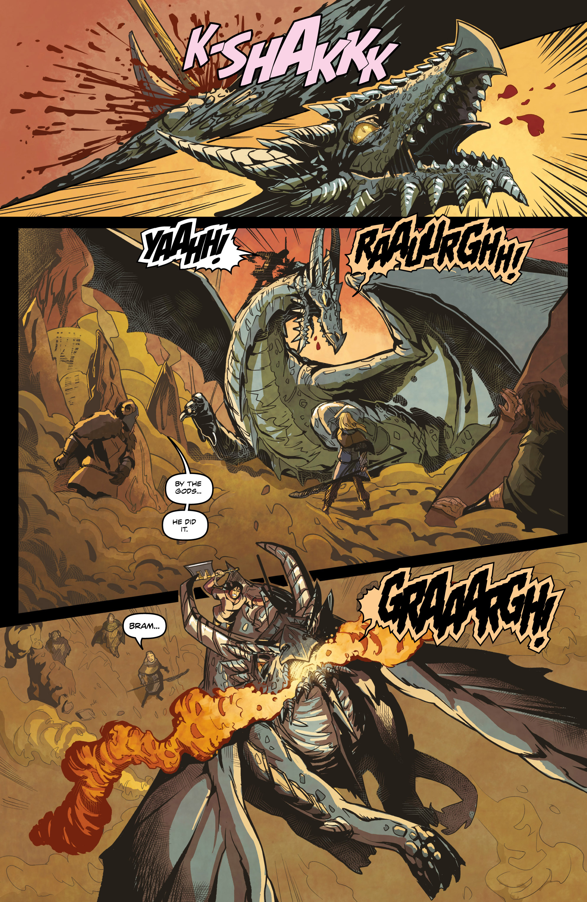 Read online Rogues! (2014) comic -  Issue #4 - 10