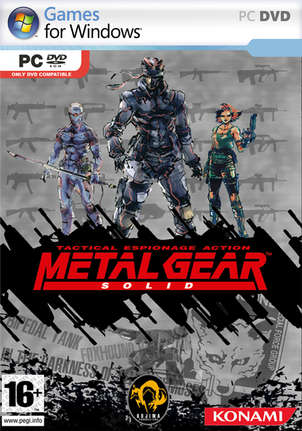 Descargar Gratis Metal Gear Solid PC Full Windows 7 / 8 Mega Shared