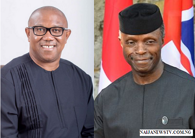 Peter Obi Criticizes Yemi Osinbajo Over Shaku-Shaku Dance Comment