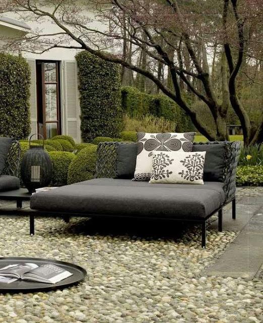 yazın bahçelerin en güzel mobilyası daybed -daybed modelleri