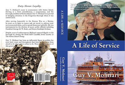 Guy Molinari's life story has been put to print and is available through Amazon.com as of October 2016. There is an entire chapter about Denise and the fight to have liver transplants approved by Medicaid included!