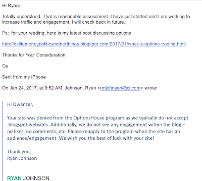 Denial Email from Options House