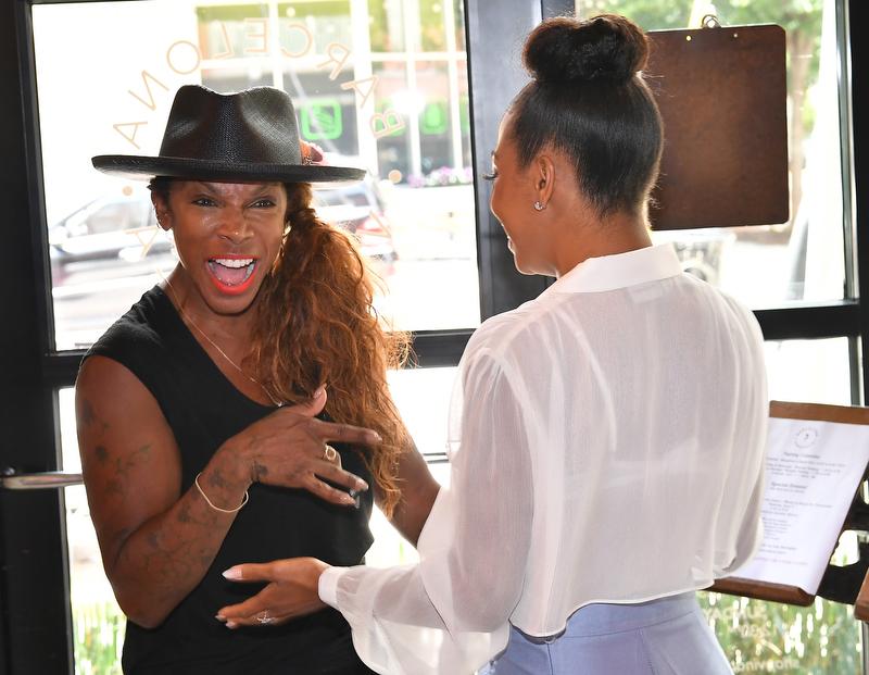 Video: Essence Atkins and Bresha Webb Host Intimate Gathering in Atlanta for NBC's MARLON  via  www.productreviewmom.com