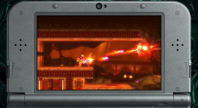 Metroid Samus Returns trailer