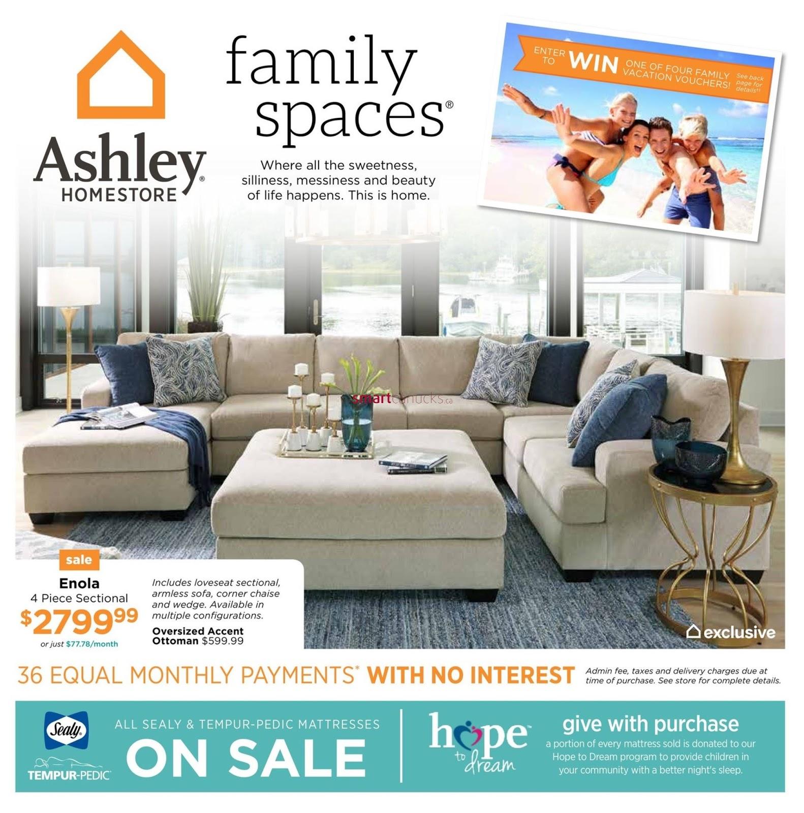 Ashley Homestore Canada Flyer February 1 14 2018