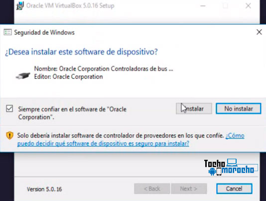 Cómo instalar VirtualBox en un sistema con Windows o Mac