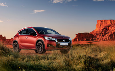 DS4 Crossback Terre Rouge