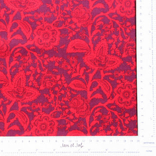 Tela floral patchwork, Jan et Jul