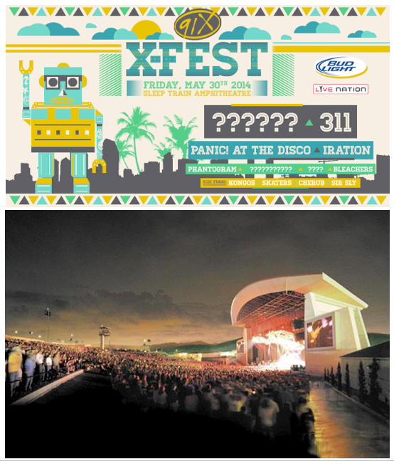 91X Reveals Early Details For Annual X Fest Concert
