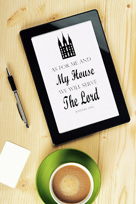 """""""As for me and my house we will serve the Lord."""" Print these pictures and use them to decorate your house with this scripture printable."""