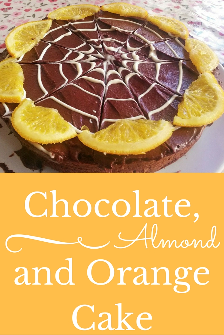 Recipe for homemade gluten free chocolate, almond and orange cake for Great British Bake Off Final