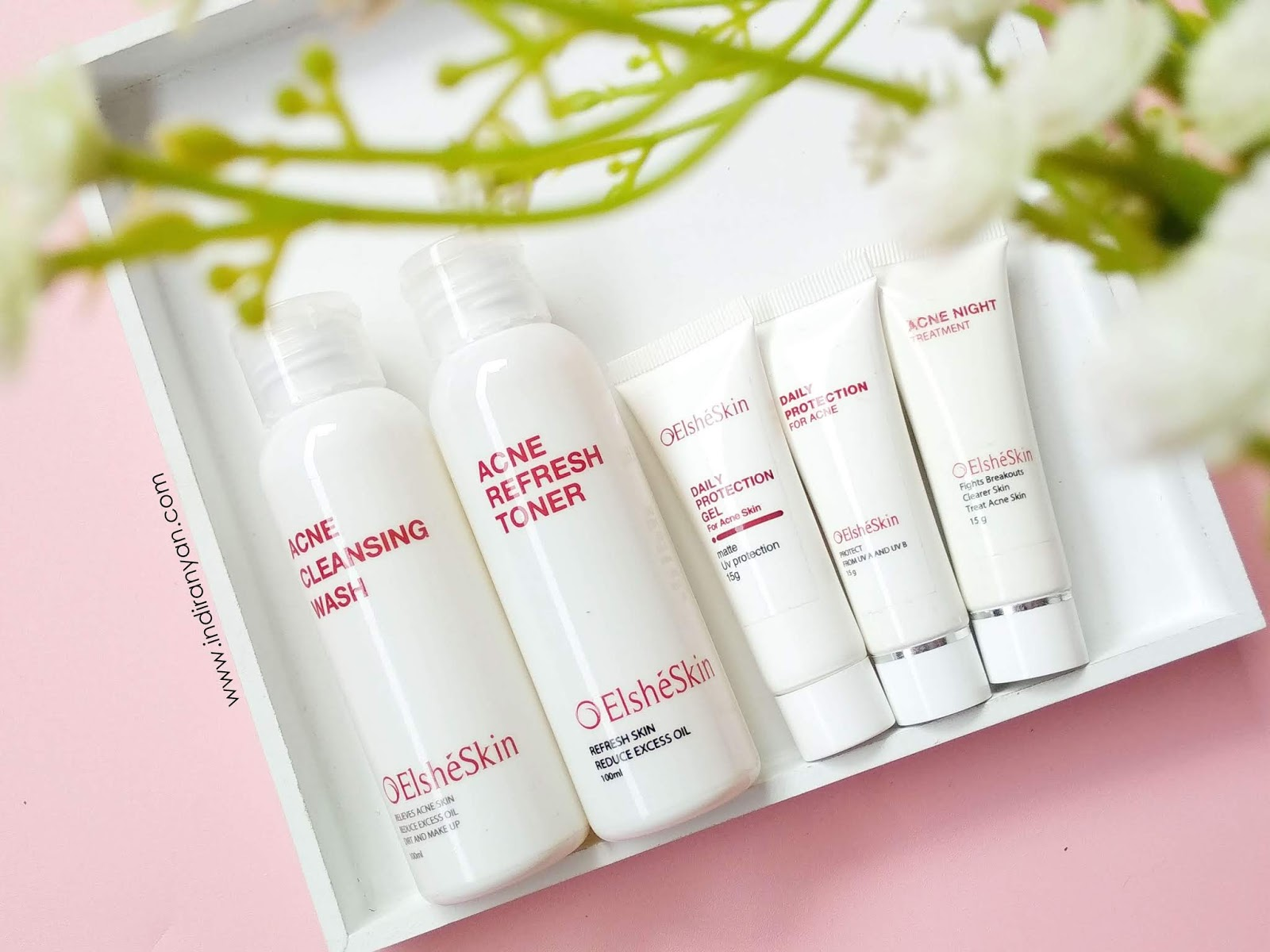 review-elsheskin, elsheskin-untuk-kulit-berjerawat, elsheskin-acne-treatment-series