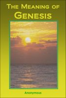 The Meaning of Genesis (Free Ebook)