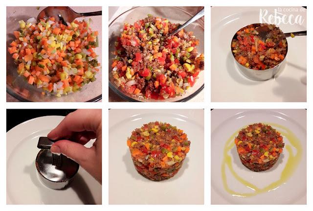 Receta de ensalada de quinoa 02