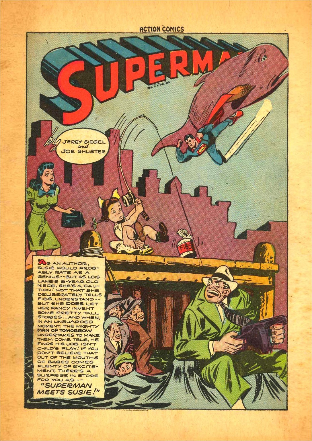 Read online Action Comics (1938) comic -  Issue #68 - 2