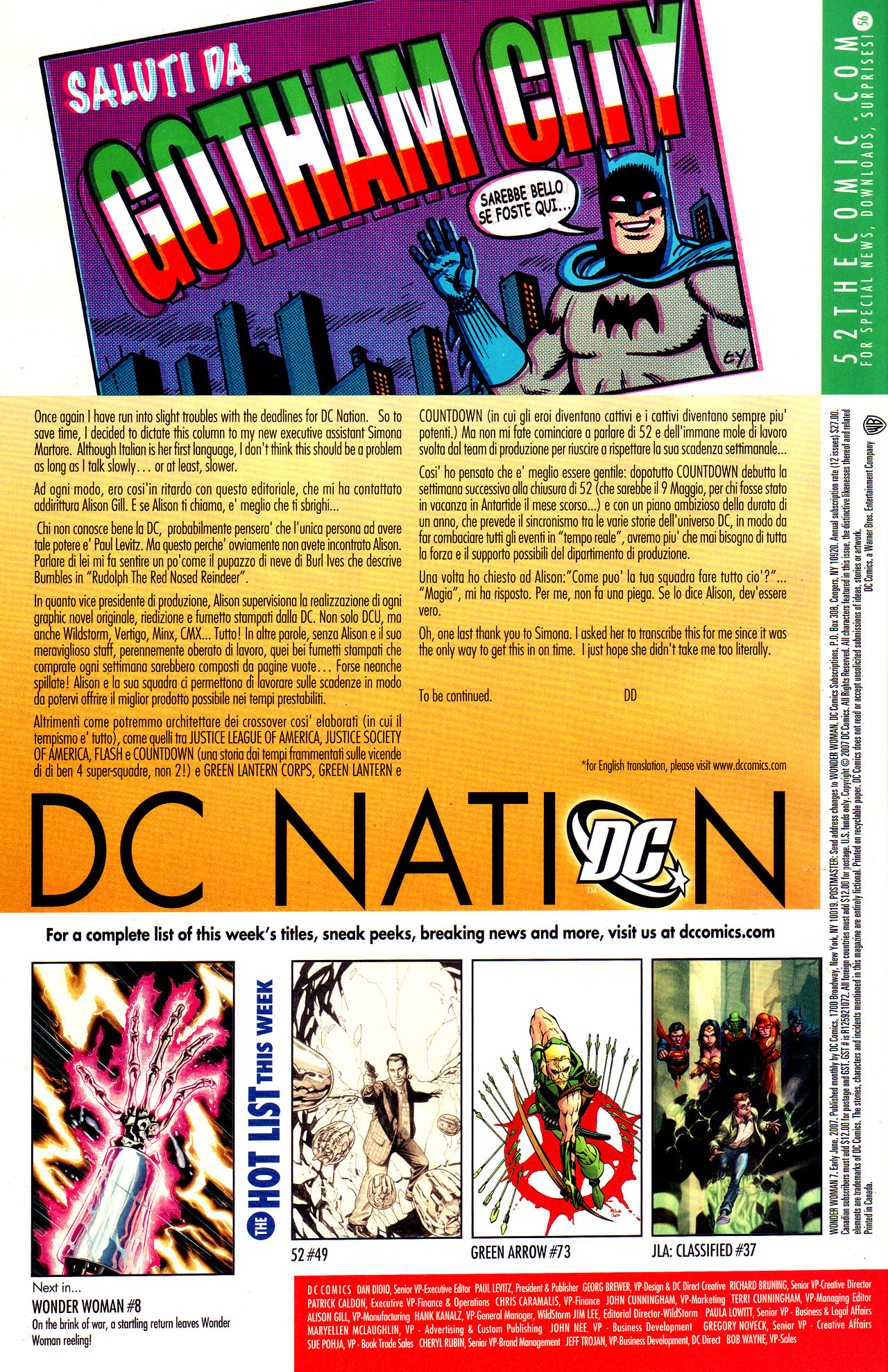 Read online Wonder Woman (2006) comic -  Issue #7 - 23