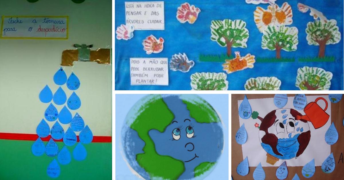30 Ideias De Murais Para O Dia Do Meio Ambiente S Escola