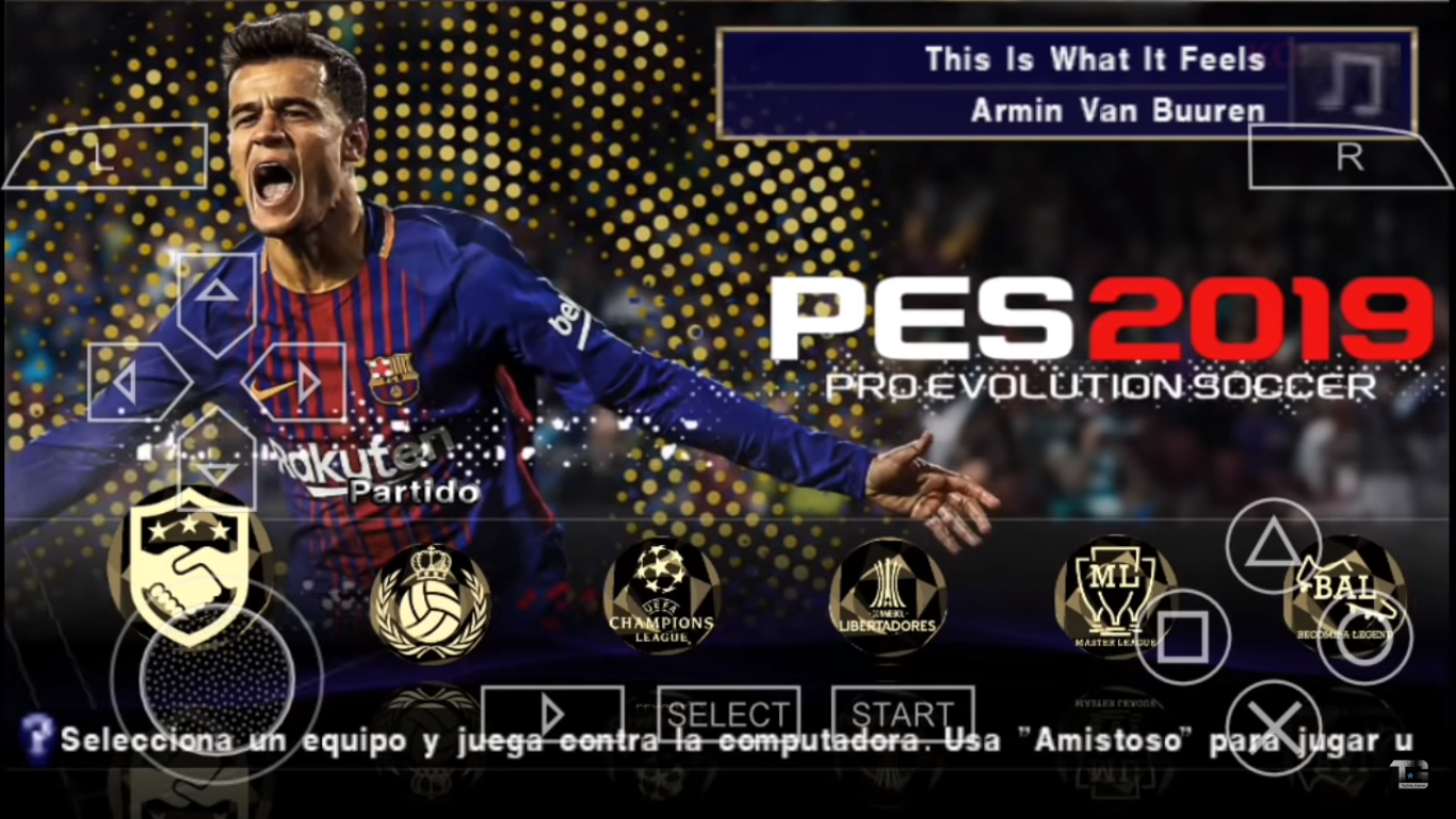 Mobile Gamebiles-MM: Pes 2019 Texture PS4 Camera Mod (PSP)